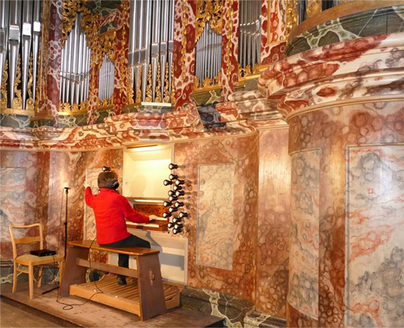 bach organ